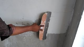 How to apply Asian paints trucare Wall putty tools