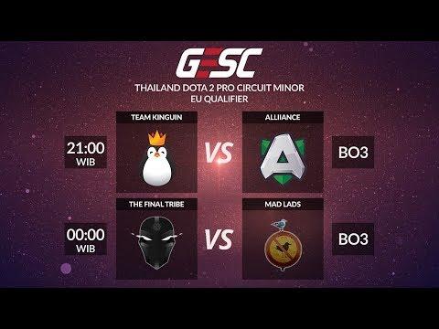 Team Kinguin vs Alliance @ GESC Thailand Minor - EU Qualifier