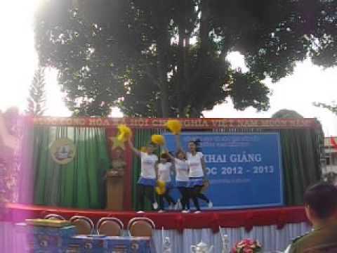 Trường Trung cấp sư phạm mầm non Dak Lak, Văn nghệ Khai giảng 2012 - 2013, EAROBIC