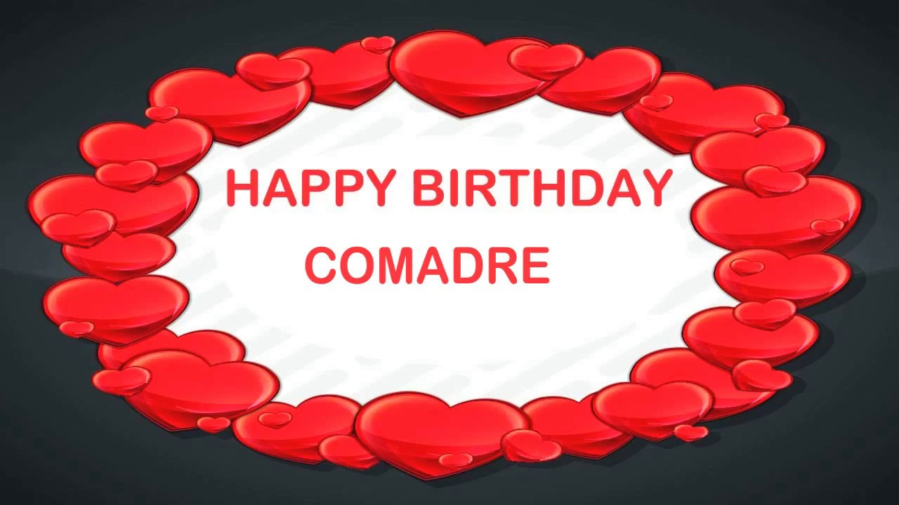 Comadre Birthday Postcards Postales Happy Birthday Youtube