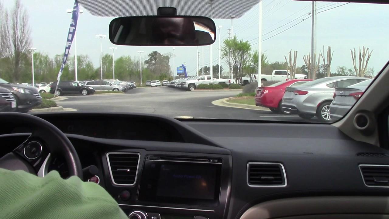 2015 Honda Civic Wilson Nc Walkaround Youtube
