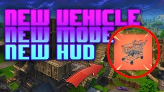 NEW VEHICLE - HUD PATCH - BLITZ MODE - Fortnite Mobile