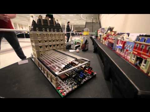 Guided expo hall tour - BrickCon 2015