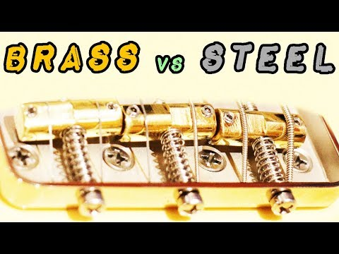 Saddles: Brass Vs. Stainless Steel (Callaham Bridges Part 2)