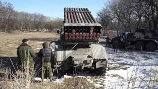 Дивизион артиллерии ДНР Корса под командованием женщины