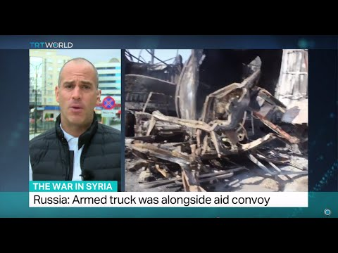 The War In Syria: UN suspends aid convoys to Syria after attack