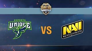 unique vs natus vincere g2a day 2 week 3 season ii gold series wgl ru 2016 17