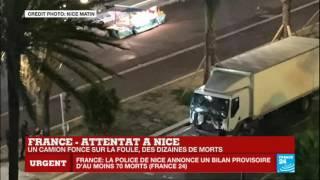 """Attentat à Nice - Témoignage : """"C'était comme au bowling, les gens qui sautaient en l'air"""""""