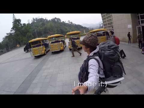 Hanoi to Nanning bus