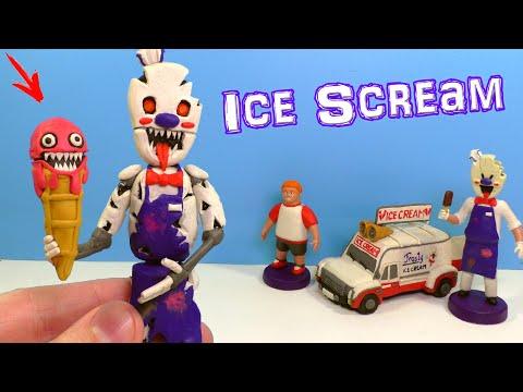 Лепим МОРОЖЕНЩИКА АНИМАТРОНИКА  из игры Ice Scream - Ruslar.Biz