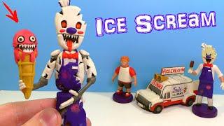 Лепим МОРОЖЕНЩИКА АНИМАТРОНИКА  из игры Ice Scream