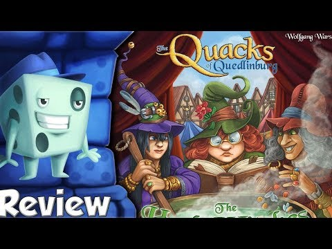 The Quacks Of Quedlinburg: The Herb Witches Review - With Tom Vasel