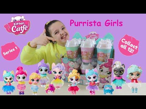 KITTEN CATFE PURRISTA GIRLS SERIES 1 JAKKS PACIFIC