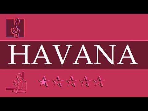 Chromatic Harmonica Notes Tutorial - Camila Cabello - Havana ft. Young Thug (Sheet Music)