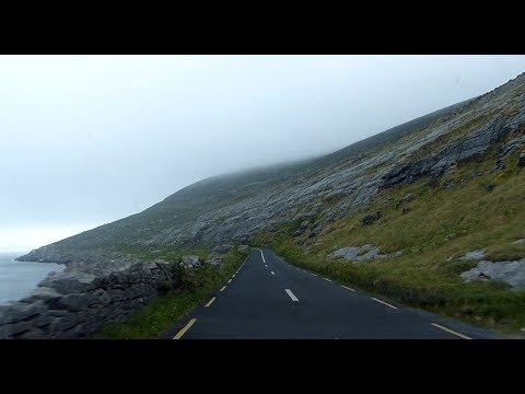 On the road - The Burren - County Clare - Ireland