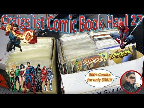 Craigslist Comic Book Haul 27   300+ Comics For $30!