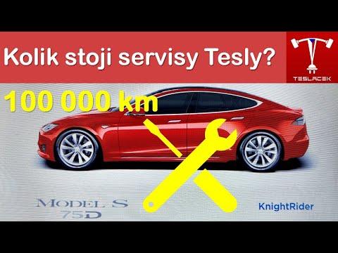 #137 Kolik stojí Tesla Servis po 100 000 km? | Teslacek