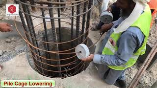 Download lagu Deep Foundations Piles ,Drilling , Cage Lowering , Tremie Pipe