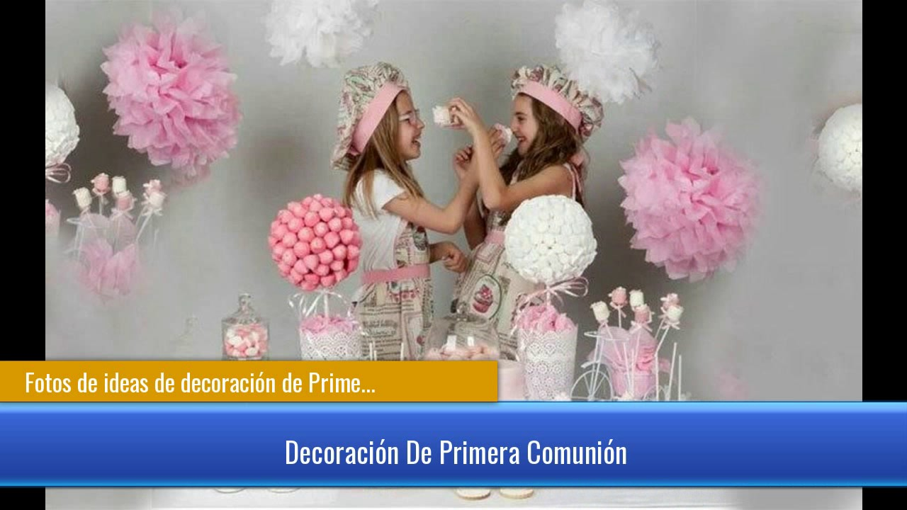 Fotos de ideas de decoraci n de primera comuni n para ni o - Fotos de decoracion ...