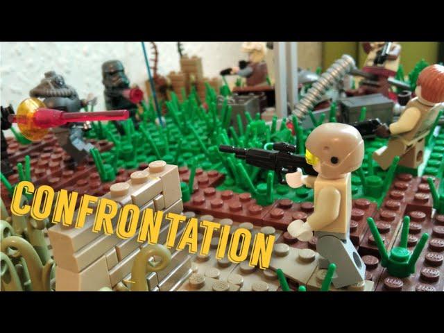 Lego Star Wars Moc - confrontation - [German]