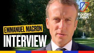 """""""J'ai changé"""" : Emmanuel Macron répond à Konbini sur l'écologie"""