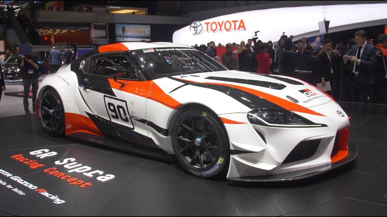 Toyota na salonie samochodowym Genewa 2018