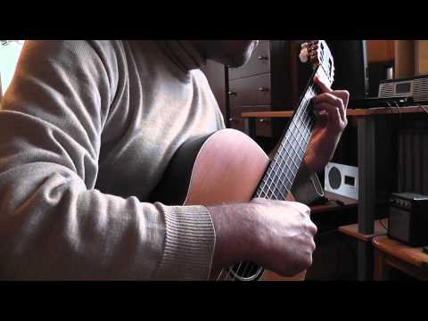 Edward Elgar : Pomp and Circumstances on classical guitar