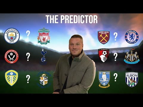 THE PREDICTOR   Paul Robinson predicts this week's Premier League & Championship matches
