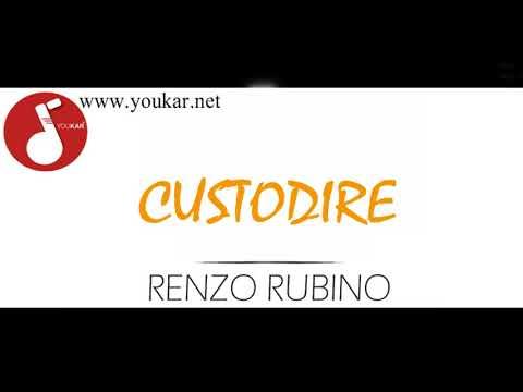 KARAOKE RENZO RUBINO CUSTODIRE BASE youkar.net