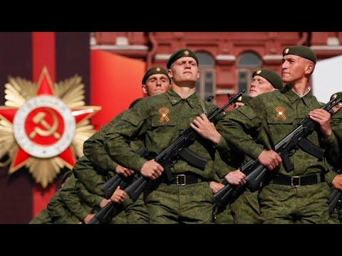 Victory Day Parade - Russian National Anthem - Red Square, Moscow 2016