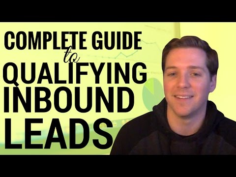 Complete Guide to Qualifying Inbound Leads