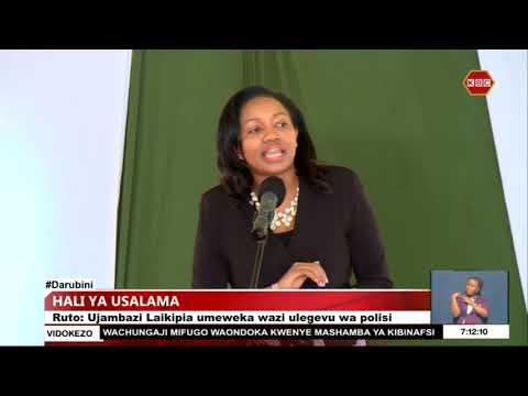 Download Ruto amtaka inspekta jenerali wa polisi kukoma kutumiwa kisiasa