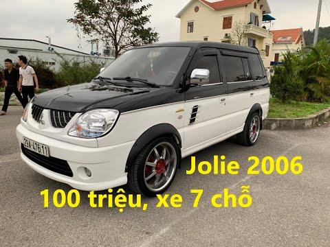 7 chỗ giá tầm 100 triệu, Mitsubishi Jolie 2006 đẹp như Range Rover