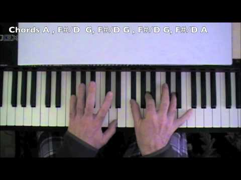 """AC/DC """"Highway""""How to play Piano Tutorial"""