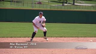 Mac Raymond - 3B - Weirton, WV - 2018