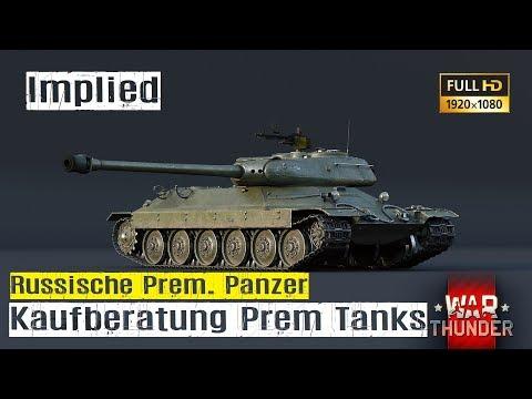 War Thunder Tutorial #03 Kaufberatung russische Premium Panzer