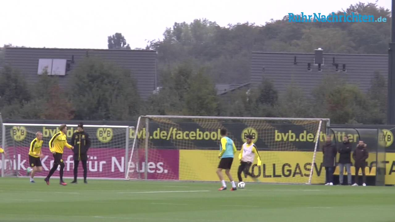 BVB-Training in Brackel am 12. Oktober