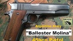 Ballester Molina 45 ACP Pistol