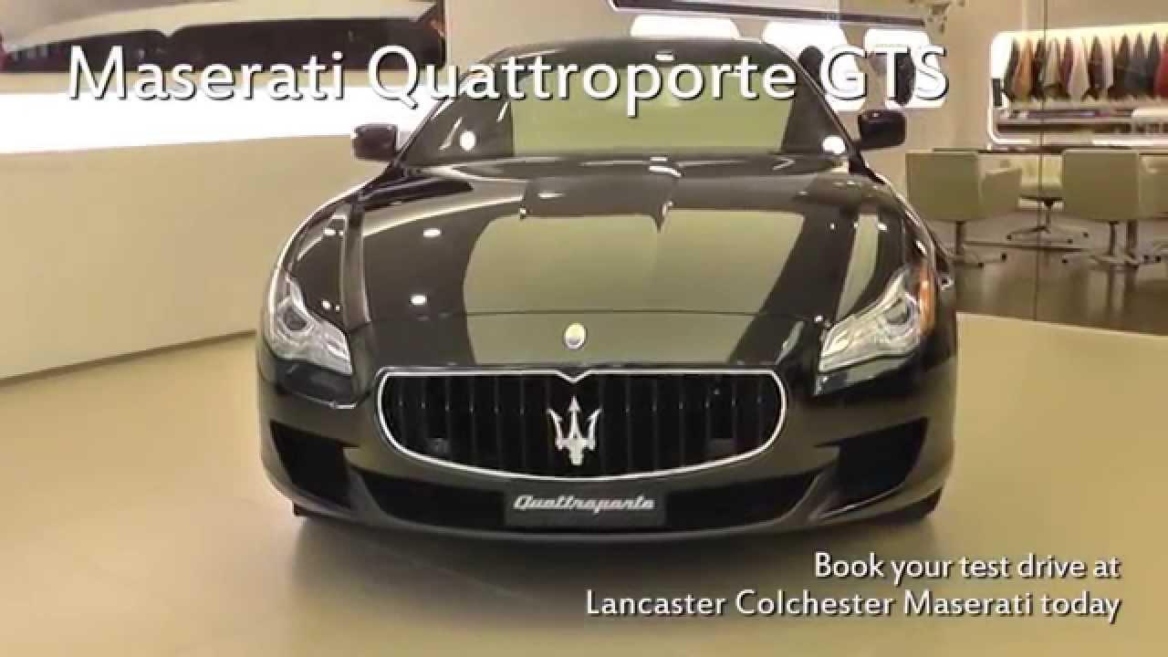 Jardine Motors Group | Maserati Quattroporte GTS | Lancaster ...