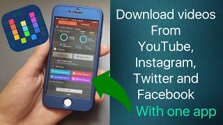 Download videos from Twitter,YouTube,Facebook and instagram on your ios device