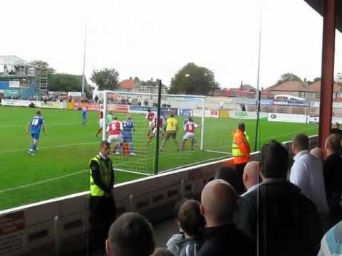 Kasper Schmeichel Over Head Kick - Morecambe vs Notts County (09/10 Season)