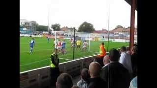 Kasper Schmeichel Over Head Kick - Morecambe vs Notts County (09/10 Season)