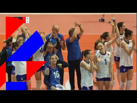#EuroVolleyU16W | Bronze Medal Match: Russia VS Slovenia