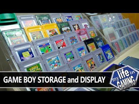 Game Boy Storage & Display :: Tips & Tweaks (w/Game Dave) - MY LIFE IN GAMING