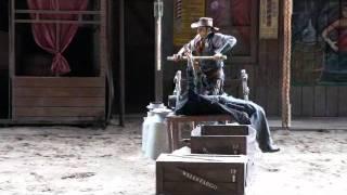 Cowboy show at Taman Safari Indonesia