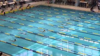 男子甲組  50米蛙泳決賽