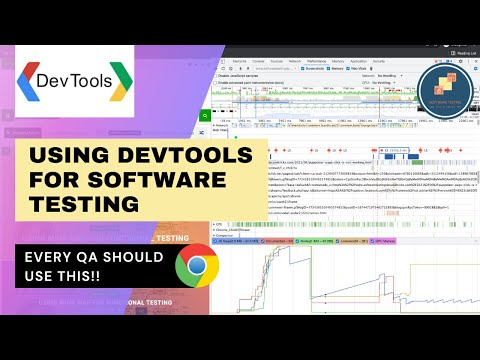 Using Chrome DevTools for software testing