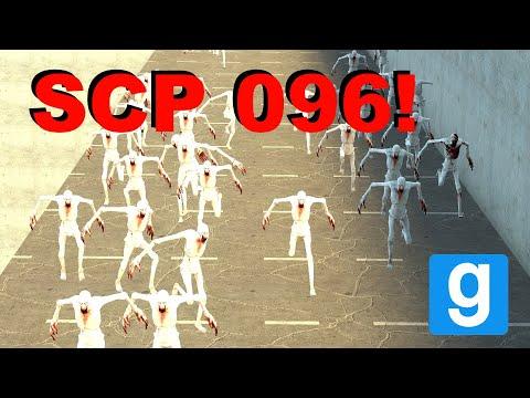 1,000 SCP 096s VS GIANT RAMP! - Garry's Mod Sandbox Funny Moments