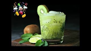 Kiwi shots 4 ingredients, super easy mocktail