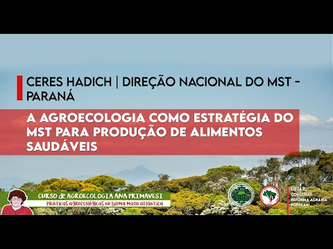 A agroecologia como